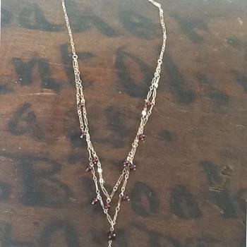 T & C necklace  - Fine Jewelry