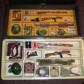 GI Joe 40th Anniversary Footlocker Set 2004 - Toys