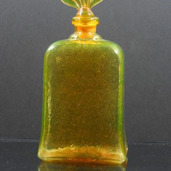 Pukeberg Royal Fan - Art Glass