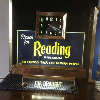 Reading Premium Beer Register Light