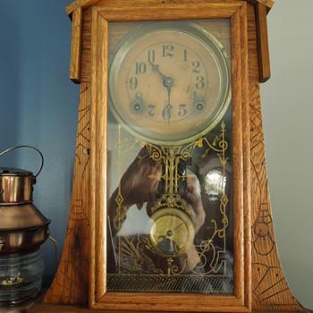 My cool newly aquired Waterbury clock. - Clocks