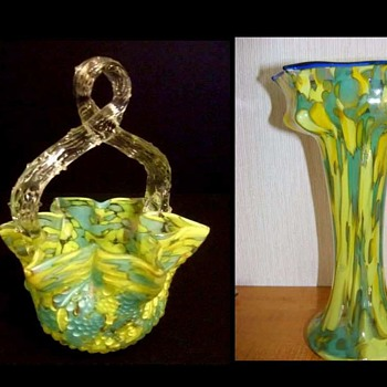 Welz Vase......this is for you, Iwona - Art Glass