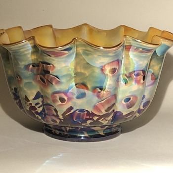 Kralik Cane Bowl - Art Deco