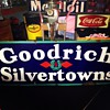 Goodrich Silvertowns Double Diamonds Porcelain Sign...Four Colors