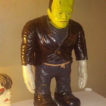 Original 1960's Aurora Gigantic Frankenstein Model  - Toys