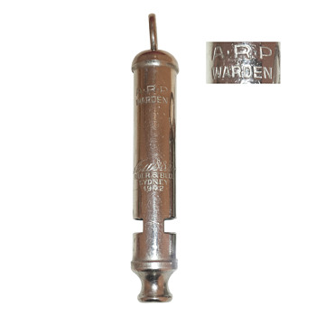 Aussie A.R.P. whistle - Tools and Hardware