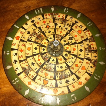 1930 Spinning poker wheel - Games