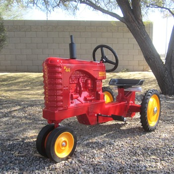 Massey Harris 44 Pedal Tractor - Toys