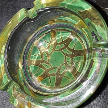 interesting little ashtray - Glassware