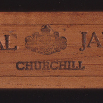 Royal Jamica Churchill cigar box Commemorating the Bicentennial of the US - Tobacciana