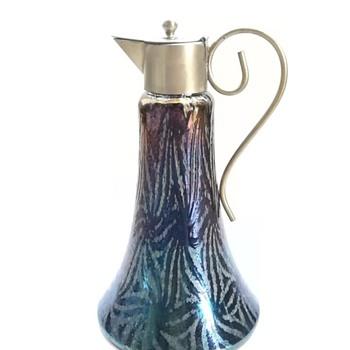 wilhelm kralik  claret jug - Art Glass