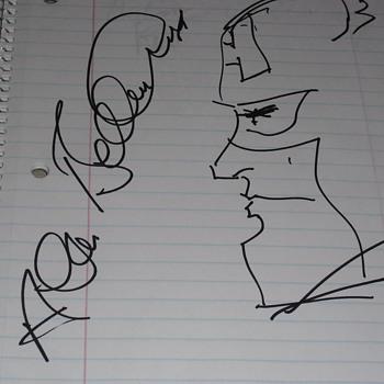 Comic Autographs part 1