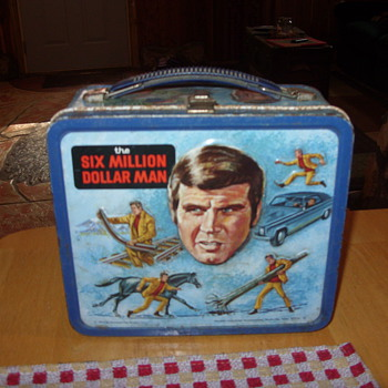 1974 six million dollar man lunch box - Kitchen