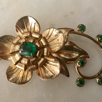 Sterling brooch - Fine Jewelry