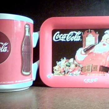 Coca Cola cup and Tip Tray - Coca-Cola