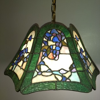 toffany stained glass ceiling lamp - Lamps