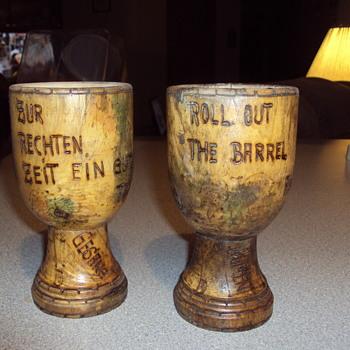Old Wooden Goblet's