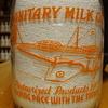 Sanitary Dairy..Rantoul Illinois Quart War Airplane Bottle....