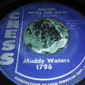 Mr. Muddy Waters...On 45 RPM Vinyl - Records
