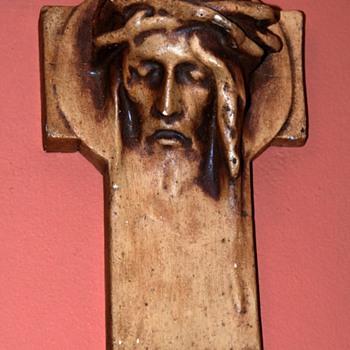 religious chalkware - Figurines