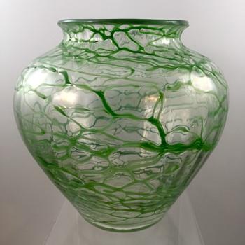 Loetz Deco Era Vase, PN III-132, ca. 1930s - Art Glass