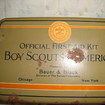 boy scout first aid kit