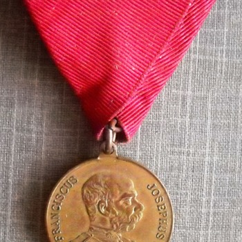Austria - Hungary 1906 medal - Medals Pins and Badges