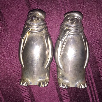 Towle penguin salt and pepper shakers - Kitchen