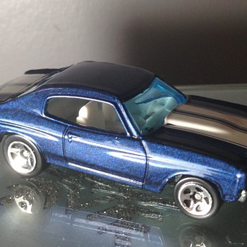 Hot wheels Chevelle SS - Model Cars