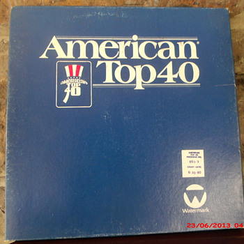 Casey Kasem's American Top 40 Radio show for week ending 8-30-1980 - Records
