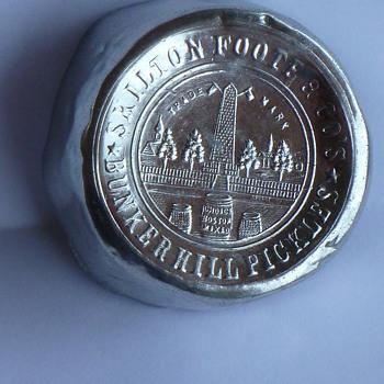 Skilton Foote & Co's Pickle Jar Foil - Bottles