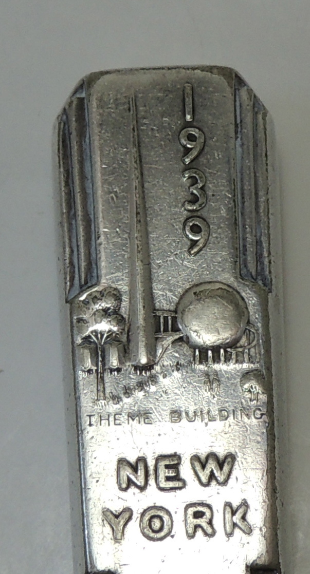Wm Rogers Mfg Co Silverplated Table Knife 1939 World S