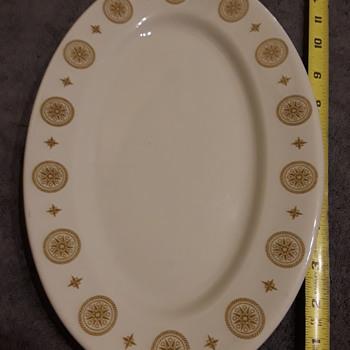 SHENANGO CHINA oval platter - China and Dinnerware