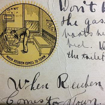 1907 sure was different  - Postcards
