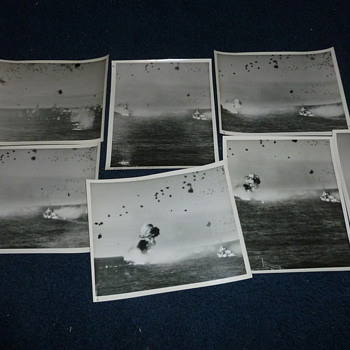 Kamikaze Attack on USS Louisville - Military and Wartime