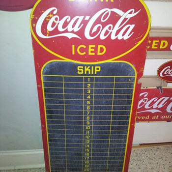 Canadian Coca-Cola Score Board - Coca-Cola