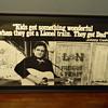 Rare Johnny Cash Promotional Poster for Lionel Trains?