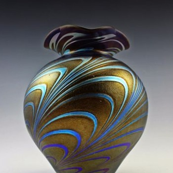 Here are a few more modern Czech vases - Art Glass