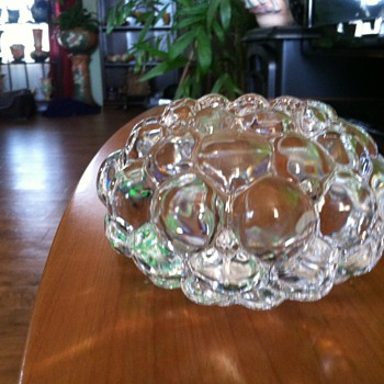 Orrefors Crystal Candle Holder - Art Glass