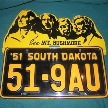 Mt. Rushmore License Plate Topper - Signs