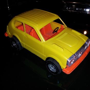 1978 Honda Civic. Plastic. Tootsietoy/ Strombecker
