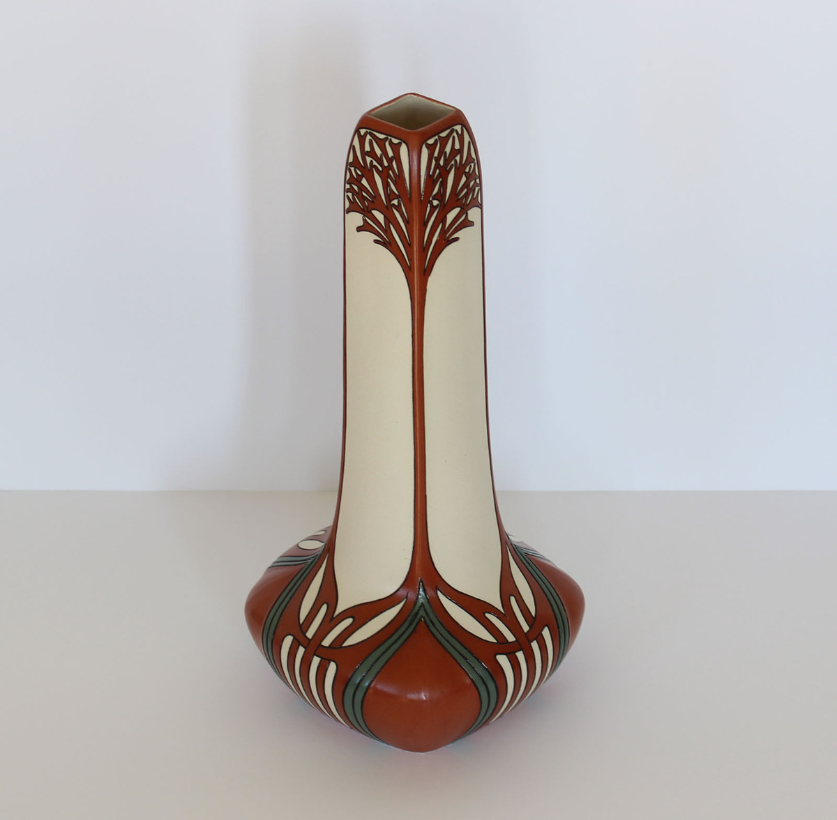 My other villeroy boch mettlach art nouveau vase red my other villeroy boch mettlach art nouveau vase red collectors weekly reviewsmspy