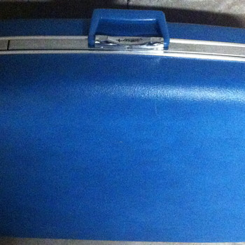 1960 Jet line luggage. - Bags