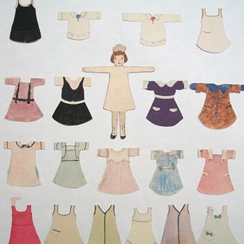 Handmade Paper Dolls - Dolls