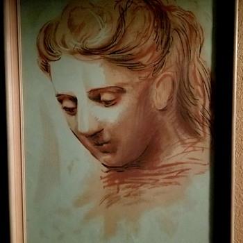 """Pablo Picasso """"Portrait De Femme"""" - Fine Art"""