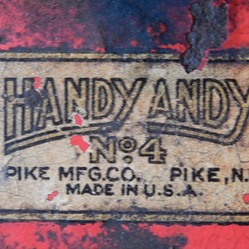 """A recent find from the """"Pike Manufacturing Company"""" in an unusual place. - Tools and Hardware"""