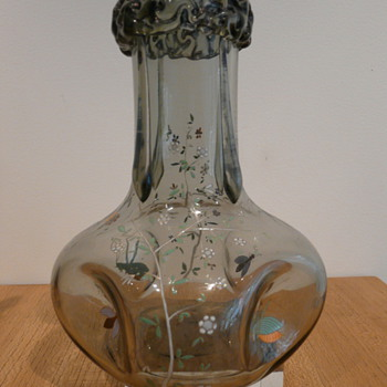 CZECH/FRENCH ORIENTALIST VASE  - Art Glass