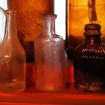 A SCHOENHEIT PIONEER DISPENSARY SAN JOSE Medicine Bottle Circa 1900 - Advertising