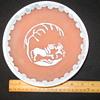 Vintage Pottery Bowl Unknown Mark USA