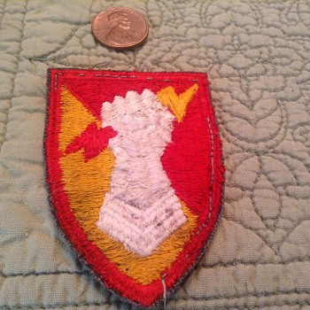WW II patch - Military and Wartime